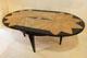 Tavolo ovale in Ginepro ed Ebano n.117